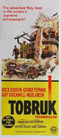 Tobruk - 13 x 30 Movie Poster - Australian Style A