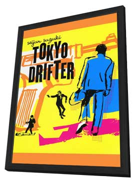 Tokyo Drifter - 27 x 40 Movie Poster - Style A - in Deluxe Wood Frame