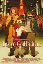 Tokyo Godfathers - 11 x 17 Movie Poster - Style A
