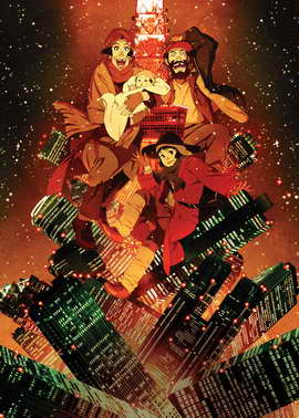 Tokyo Godfathers - 11 x 17 Movie Poster - Style B