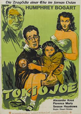 Tokyo Joe - 11 x 17 Movie Poster - German Style A