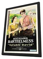 Tol'able David - 27 x 40 Movie Poster - Style A - in Deluxe Wood Frame