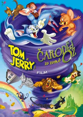 Tom and Jerry & The Wizard of Oz - 11 x 17 Movie Poster - Czchecoslovakian Style A
