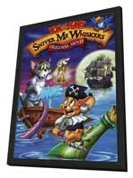 Tom and Jerry in Shiver Me Whiskers - 11 x 17 Movie Poster - Style A - in Deluxe Wood Frame