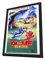Tom and Jerry - 11 x 17 Movie Poster - Style A - in Deluxe Wood Frame