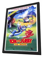 Tom and Jerry - 27 x 40 Movie Poster - Style A - in Deluxe Wood Frame