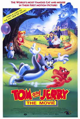 Tom and Jerry - 27 x 40 Movie Poster - Style A
