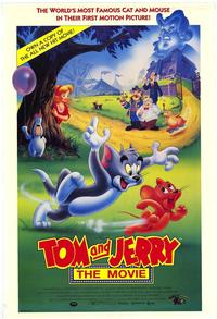 Tom and Jerry - 43 x 62 Movie Poster - Bus Shelter Style A
