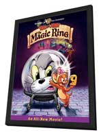 Tom and Jerry: The Magic Ring - 11 x 17 Movie Poster - Style A - in Deluxe Wood Frame