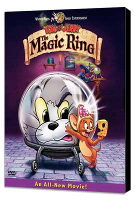 Tom and Jerry: The Magic Ring - 11 x 17 Movie Poster - Style A - Museum Wrapped Canvas