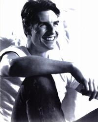 Tom Cruise - 8 x 10 B&W Photo #1