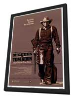 Tom Horn - 27 x 40 Movie Poster - Style A - in Deluxe Wood Frame