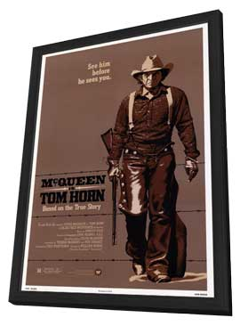 Tom Horn - 11 x 17 Movie Poster - Style A - in Deluxe Wood Frame