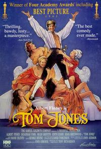 Tom Jones - 27 x 40 Movie Poster - Style B