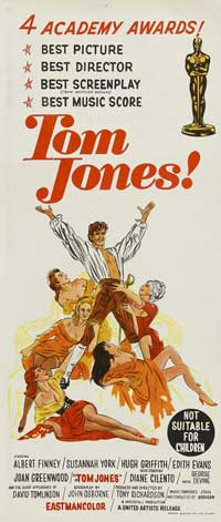 Tom Jones - 13 x 30 Movie Poster - Australian Style A