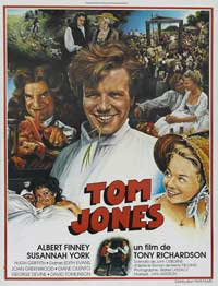 Tom Jones - 27 x 40 Movie Poster - French Style A