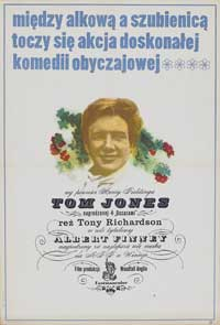 Tom Jones - 27 x 40 Movie Poster - Polish Style A
