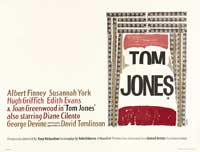 Tom Jones - 30 x 40 Movie Poster UK - Style A