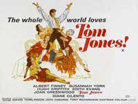 Tom Jones - 30 x 40 Movie Poster UK - Style B