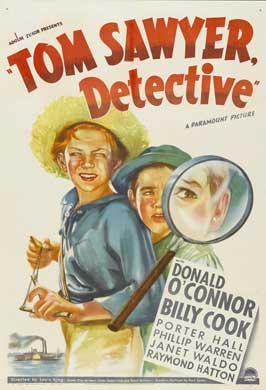 Tom Sawyer, Detective - 11 x 17 Movie Poster - Style A