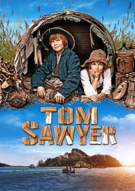 Tom Sawyer - 11 x 17 Movie Poster - German Style B