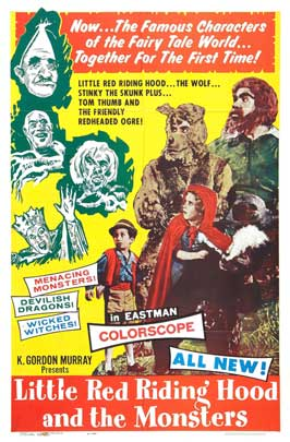 Tom Thumb and Little Red Riding Hood - 27 x 40 Movie Poster - Style A