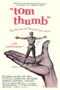 Tom Thumb - 27 x 40 Movie Poster - Style B