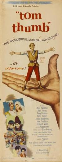 Tom Thumb - 14 x 36 Movie Poster - Insert Style A