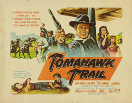 Tomahawk Trail - 22 x 28 Movie Poster - Half Sheet Style A