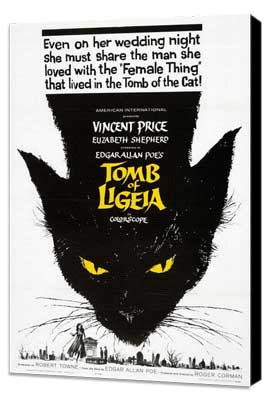 Tomb of Ligeia - 27 x 40 Movie Poster - Style A - Museum Wrapped Canvas