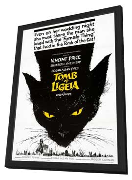 Tomb of Ligeia - 11 x 17 Movie Poster - Style A - in Deluxe Wood Frame