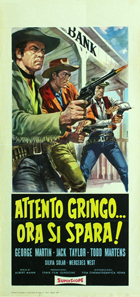 Tomb of the Pistolero - 11 x 17 Movie Poster - Italian Style A