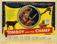 Tomboy and the Champ - 22 x 28 Movie Poster - Half Sheet Style A