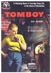 Tomboy - 11 x 17 Retro Book Cover Poster