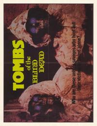 Tombs of the Blind Dead - 27 x 35 Movie Poster - Style A