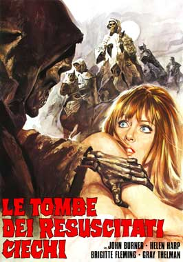 Tombs of the Blind Dead - 11 x 17 Movie Poster - Italian Style A