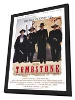 Tombstone - 11 x 17 Movie Poster - Style A - in Deluxe Wood Frame
