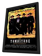 Tombstone - 27 x 40 Movie Poster - Style B - in Deluxe Wood Frame