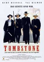 Tombstone - 11 x 17 Movie Poster - German Style A