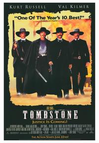 Tombstone - 43 x 62 Movie Poster - Bus Shelter Style B