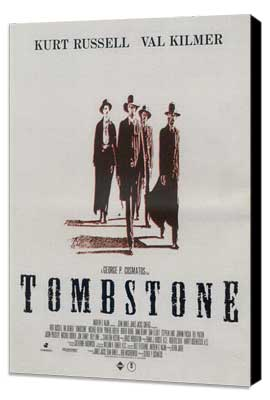 Tombstone - 11 x 17 Movie Poster - Style D - Museum Wrapped Canvas