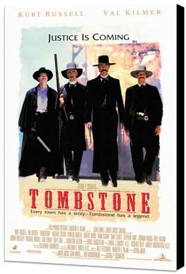 Tombstone - 27 x 40 Movie Poster - Style A - Museum Wrapped Canvas