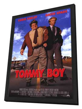 Tommy Boy - 11 x 17 Movie Poster - Style A - in Deluxe Wood Frame