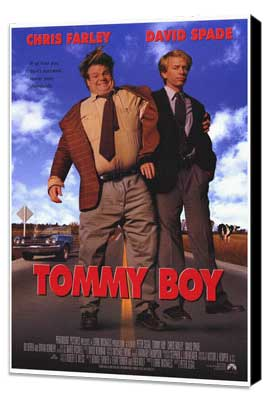 Tommy Boy - 27 x 40 Movie Poster - Style A - Museum Wrapped Canvas