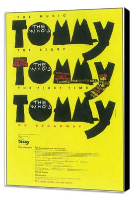 Tommy (Broadway) - 11 x 17 Poster - Style A - Museum Wrapped Canvas