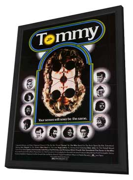 Tommy - 27 x 40 Movie Poster - Style B - in Deluxe Wood Frame