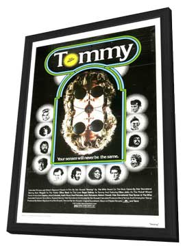 Tommy - 11 x 17 Movie Poster - Style D - in Deluxe Wood Frame