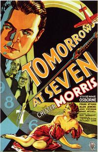 Tomorrow at Seven - 27 x 40 Movie Poster - Style A