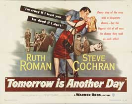 Tomorrow is Another Day - 22 x 28 Movie Poster - Half Sheet Style A