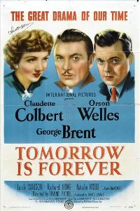 Tomorrow Is Forever - 27 x 40 Movie Poster - Style A